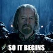 begins
